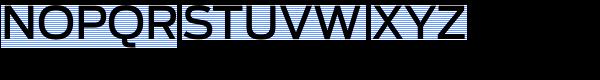 Antenna Medium Font UPPERCASE