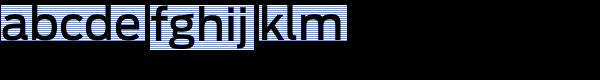 Antenna Medium Font LOWERCASE