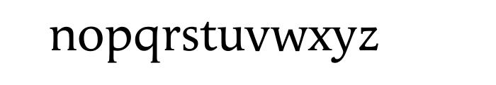 Apolline Std Regular OT Font LOWERCASE