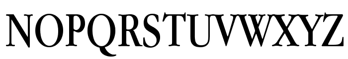 Apple Garamond Font UPPERCASE