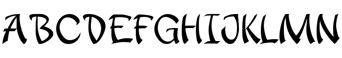 apantasia Font UPPERCASE