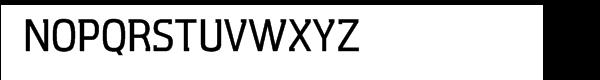 Aquarius Medium Font UPPERCASE