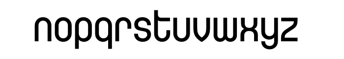 ARS District Medium OT Font LOWERCASE