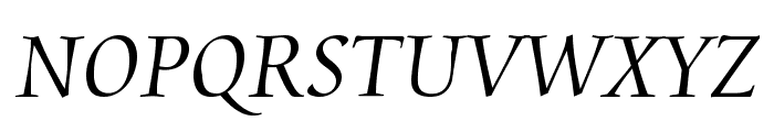 Aramis Regular Font UPPERCASE