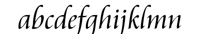 Aramis Regular Font LOWERCASE