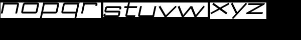 ArchiType Expanded Regular Italic Font LOWERCASE