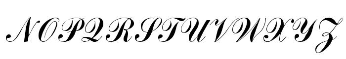 Arenski Regular Font UPPERCASE