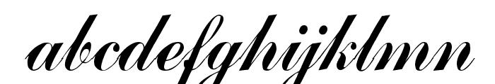 Arenski Regular Font LOWERCASE