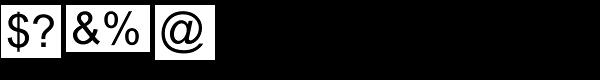 Arial Pro Greek Regular Font OTHER CHARS