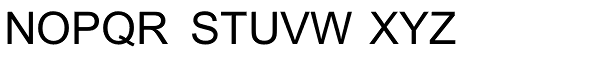 Arial Pro Greek Regular Font UPPERCASE