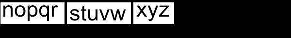 Arial Pro Greek Regular Font LOWERCASE