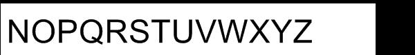 Arial® Regular WGL Font UPPERCASE