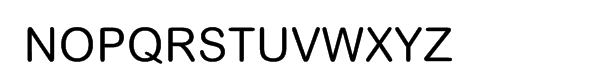 Arial® Rounded WGL Font UPPERCASE