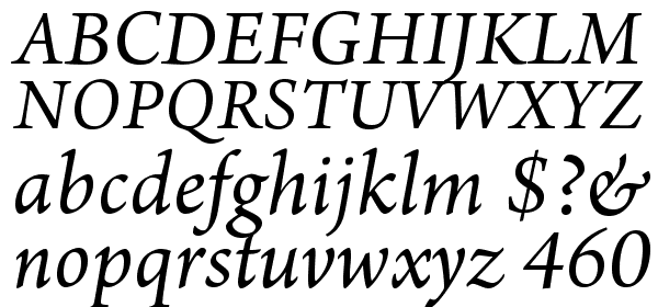 Arno Pro All Font