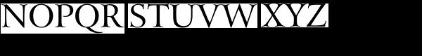 Arrus BT Roman Font UPPERCASE