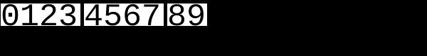 Ascender Sans Mono™ Font OTHER CHARS