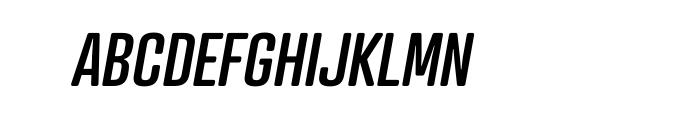Atrament Std Medium Italic Font UPPERCASE