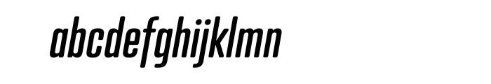 Atrament Std Medium Italic Font LOWERCASE