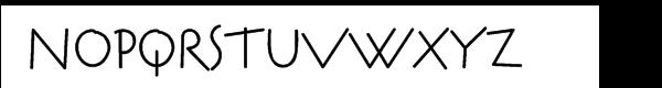 AuktyonZ Cyrillic Regular Font UPPERCASE