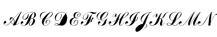 Author Font UPPERCASE