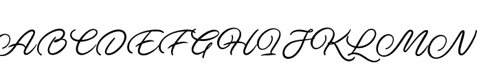 Ave Utan PERSONAL USE ONLY Font UPPERCASE