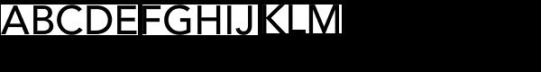 Avenir Medium Font UPPERCASE