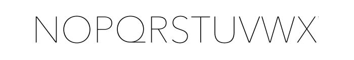Avenir Next Pro Ultra Light Font