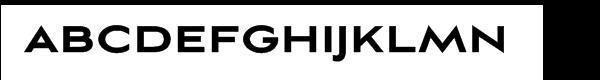 Aviano Sans Black Font UPPERCASE