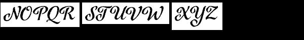 Azalea Rough Font UPPERCASE