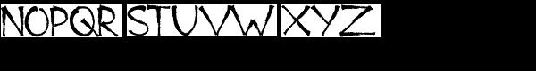 Bad Marker Font UPPERCASE