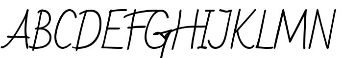 BadScript-Regular Font UPPERCASE