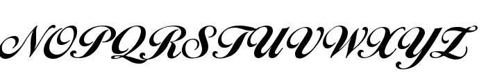 BallantinesSerial-Heavy-Regular Font UPPERCASE