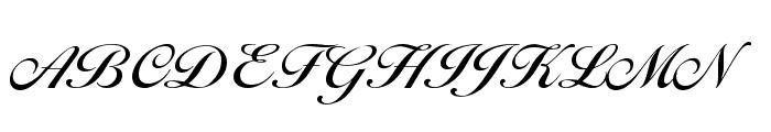 BallantinesSerial-Medium-Regular Font UPPERCASE