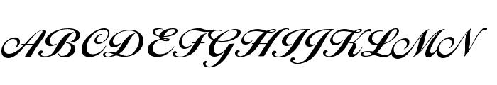 BallantinesSerial-Xbold-Regular Font UPPERCASE