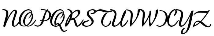 BanksScript-Bold Font UPPERCASE