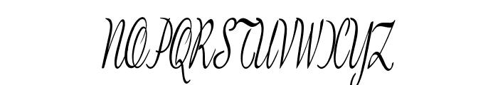 BanksScript-ExtraCondItalic Font UPPERCASE