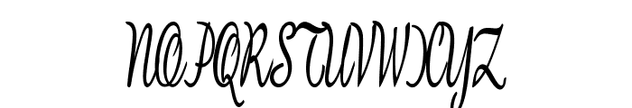 BanksScript-ExtracondensedBold Font UPPERCASE