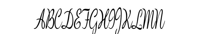 BanksScript-ExtracondensedReg Font UPPERCASE