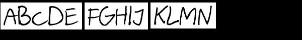 Barme Reczny Font UPPERCASE