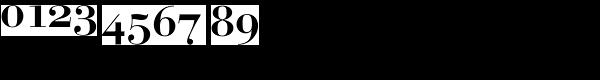 Bauer Bodoni EF Medium SC Font OTHER CHARS