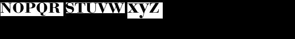 Bauer Bodoni EF Medium SC Font LOWERCASE