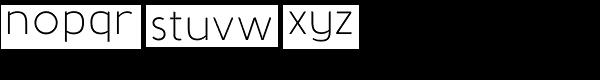 Baufra Font LOWERCASE