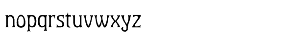 Baumfuss Two Font LOWERCASE