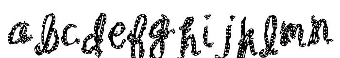 Baxter Dash Font LOWERCASE