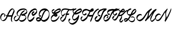 Beast of Avalon Font UPPERCASE