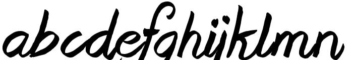 Beast of Avalon Font LOWERCASE