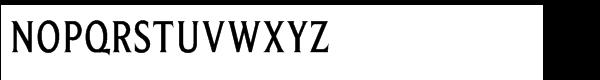 Beaufort Condensed Medium Font UPPERCASE