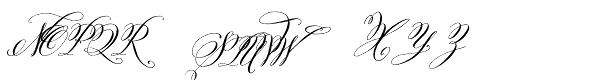 Belluccia Font UPPERCASE