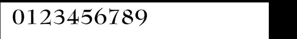 Bernhard Modern™ Bold Font OTHER CHARS