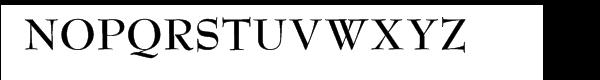 Bernhard Modern™ Bold Font UPPERCASE